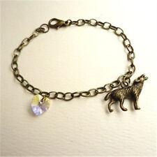 Twilight Breaking Dawn: Bella's Wolf & Heart Bracelet Prop Replica Jewelry
