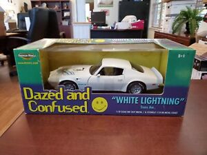 "Dazed and Confused ""White Lightning"" Trans Am 1:18 American Muscle ERTL DieCast"