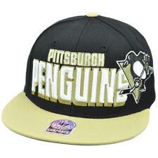 47 Forty Seven Brand Snap Back Slamma Jamma Hat Cap NHL LNH Pittsburgh Penguins