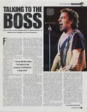 Bruce Springsteen VOX Interview Cutting TRANSPARENT