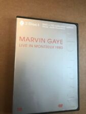 Marvin Gaye - LIVE IN MONTREUX 1980 DVD + CD - Free Shipping