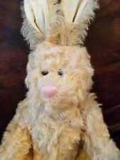 """Rabbit 14"""" + ears by plusch & stoffspielwaren made in germany"""