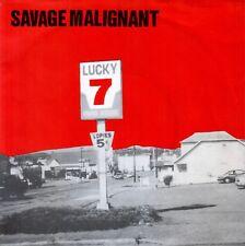 "SAVAGE MALIGNANT - Lucky 7 - UK 7"" EP - 1997"