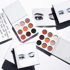 9 Colors Matte Shimmer Warm Eye Shadow Makeup Cosmetic Eyeshadow Palette Set