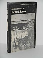 Home: Social Essays by LeRoy Jones 1968