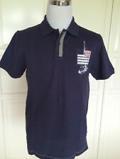 Schönes Original SIGNUM Herren Poloshirt Segeln dunkelblau Gr. M / L NEU Etikett
