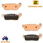 FRONT Sintered Brake Pads SUZUKI AN 650 Burgman Skywave ABS 2004-2010 2011 2012