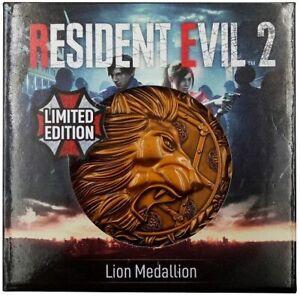 Resident Evil Medallion - Lion Metal Replica Official New
