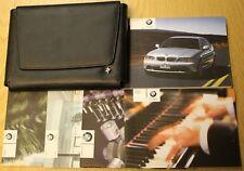 BMW 3 Serie Coupe E46 Manual Del Propietario Manual Cartera radio 2003-2006 Pack B-63