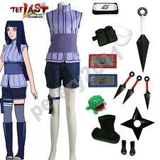 Naruto The movie Hinata Hyuga Ninja Adult Children Uniform Cosplay Costume Set
