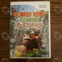 Donkey Kong Country ( Nintendo Wii ) Authentic/Cleaned/Tested