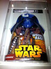 Chewbacca AFA U9.0 Star Wars ROTS #05 MOC Mint