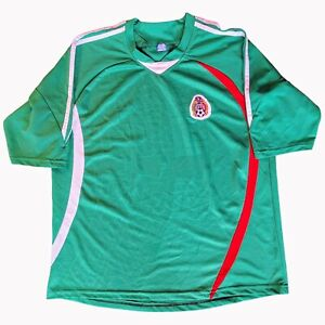 Federación Mexicana Men's Futbol Football Soccer Jersey Mexico - One Size