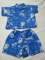 Area Code 808 Hawaii One Piece Oahu Maui Baby Infant Creeper Romper NB-24M