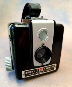 vintage Kodak camera, Brownie Hawkeye, 1960s
