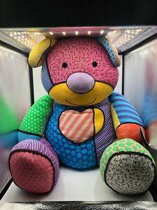 Jumbo Britto Popplush Enesco Tallulah The Teddy Bear Plush Stuffed Toy Animal