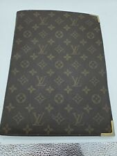 Louis Vuitton Monogram Agenda Bureau Pocketbook Writing Folder PM France