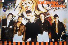 RARE DURAN DURAN LIBERTY 1990 VINTAGE ORIGINAL RECORD  ALBUM PROMO POSTER
