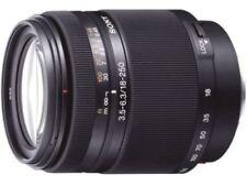 Objetivos teleobjetivos Sony para cámaras