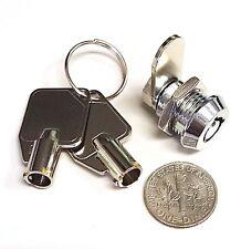 Miniature Tubular Cam Lock, Two Keypull, C520S-2KP
