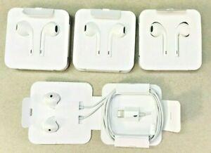 100% Genuine Apple iPhone 7/8/X Lightning EarPods Headphones EarPhones Handsfree
