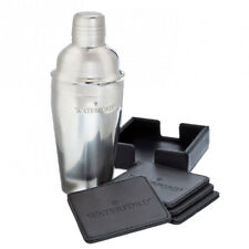 Waterford COCKTAIL SHAKER & COASTER GIFT SET -  NEW / BOX