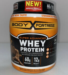 Body Fortress Whey Chocolate Protein Powder. 2lbs.