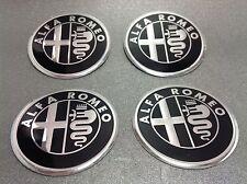 Autocollant Sticker Centre de Roue Cache Moyeu Jante Alu pour ALFA ROMEO 4x60mm