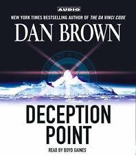 Deception Point by Dan Brown (2003, CD, Abridged)