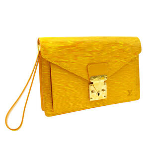 LOUIS VUITTON POCHETTE SELLIER DORAGONNE CLUTCH HAND BAG M52619 TH1917 05405