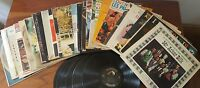 33 1/3 RPM Record lot of 30 Records mostly country music