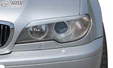 RDX Scheinwerferblenden BMW E46 Coupe / Cabrio Facelift 2003+ Böser Blick
