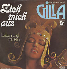 GILLA Zieh mich aus 45 RECORD WITH PIC SLEEVE PS RARE DISCO FUNK