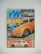 SUPER VW MAG 185 COX CABRIOLET OLD SPEED 54-COX DECOUVRABLE 59-BUGGY MANX 2004
