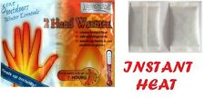12 Pairs Disposable Hand Warmers Pocket Gloves Warmers Ski Golf Instant Heat New