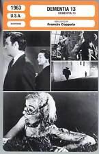 DEMENTIA 13 - Campbell,Anders,Coppola (Fiche Cinéma) 1963
