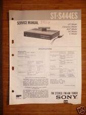 Service-Manual Sony ST-S444ES Tuner ORIGINAL
