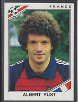 Panini - Mexico 86 World Cup - # 181 Albert Rust - France
