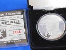 Highland Mint Albert Belle Proof Silver Art Medal MLB E2814