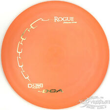 New Orange D-Line Rogue Distance Driver 169g Dga Disc Golf Gold Stamp Fast
