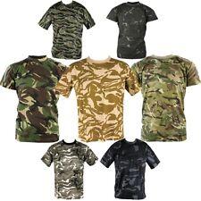 aa81a4e3 MENS ARMY CAMOUFLAGE T-SHIRT S-3XL 100% COTTON MTP BTP DPM DESERT