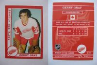 2015 SCA Gerry Gray rare Detroit Red Wings goalie never issued produced #d/10