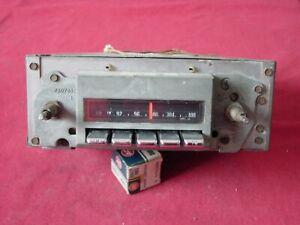 1969 - 72 PONTIAC GTO TEMPEST LEMANS GRAND PRIX AM FM MONO RADIO USED