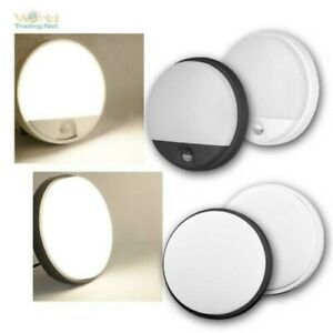 LED Wall Lamp with Motion Detector, Weatherproof Outdoor Light 10/15W IP54 230V
