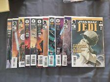 Star Wars Comics by Dark Horse all featuring Jedi
