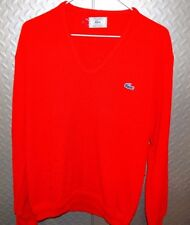 17445 Vintage Retro Womens Hispter Izod LaCoste Pullover Sweater ~ L Large