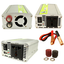 500W Peak Converter Power Inverter DC 12V to AC 230V invertor USB Charger Port