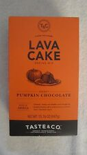 T & C Taste & Co Lava Cake Baking Mix Sweet Pumpkin Chocolate 15.76 Oz YUMMY! #