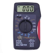 Mini Pocket Digital 1999 Multimeter AC/DC Ammeter Voltmeter Ohm Meter Test 12V