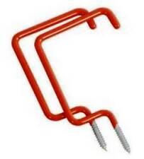2 Pc Utility Ladder Storage Ceiling Hooks - Garage Shed Tool Shop Organization